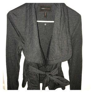 BCBG Maxazria open-front jacket